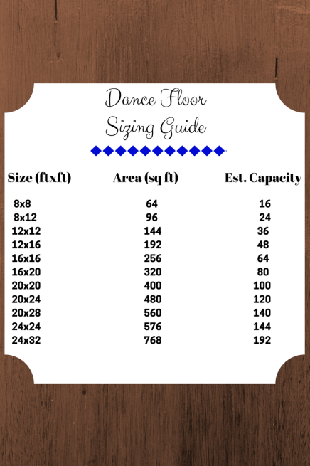 Dance Floor Sizing Guide-1
